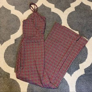 🔴 Wild Fable Plaid Jumpsuit NWT